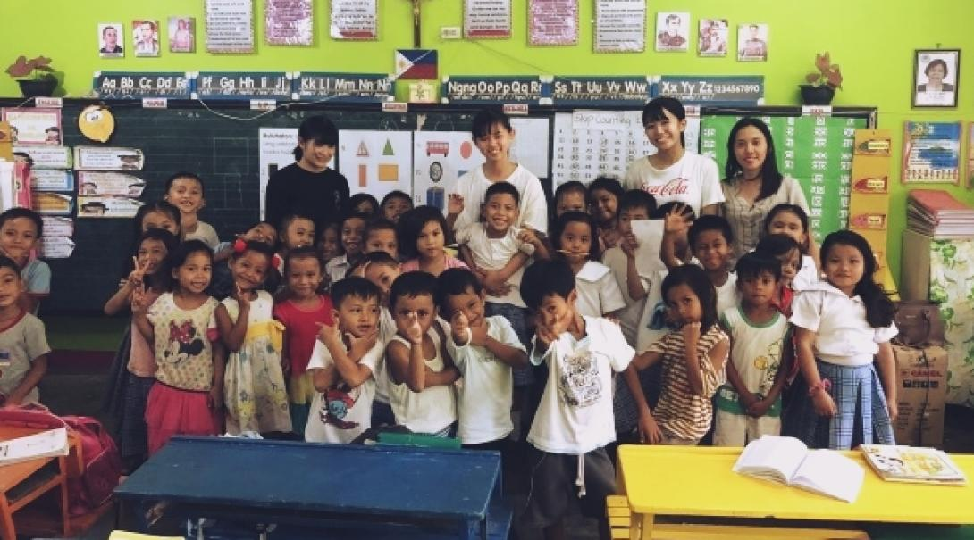 フィリピンでチャイルドケア&地域奉仕活動 R.S.